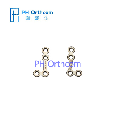 Titanium Micro L Plate(90 degree) for Cranio-Maxillo-Facial Surgery System 1.5 Plate thickness 0.6mm