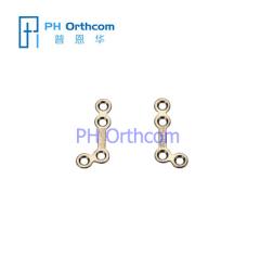 Титан Micro L Plate (135 градусов) для черепно-челюстно-лицевой хирургии системы 1.5 Толщина листа 0,6 мм