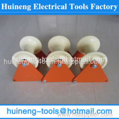 PIVOTING CABLE BEND ROLLER Cable Laying Rollers