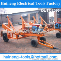 Self Loading Cable Trailer Cable and Pipe Laying Equipment