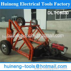 reel trailers Reel Cable Trailer Cable Reel Puller for power project