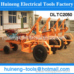 Cable Reels Cable Drum Carrier Trailer Safe and easy drum handling