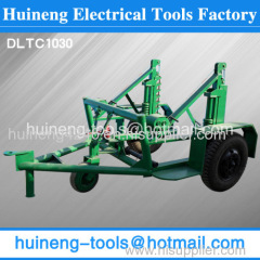 propelled reel/spool trailer Cable Laying Equipment factory
