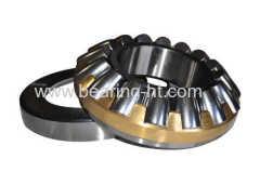 Thrust rolling motor bearings
