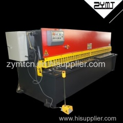 ZYMT high quality best price hydraulic shearing machine with CE certification