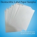 Factory Price Fragile Adhesive Paper Security Destructible Vinyl Label Material Eggshell Sticker Papers