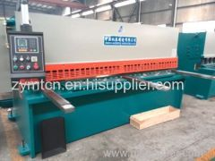 ZYMT sheet metal shearing machine with CE and ISO 9001 certification