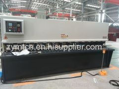 ZYMT hot sale cnc hydraulic sheet metal cutting machine with E21 controller