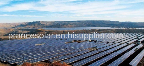 large ground MW PV solar power system sulution