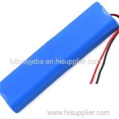 9.6V-3000mAh-18650 Battery For Emergency Lighting