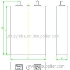 3.2V 40Ah LiFePO4 Battery For Solar Street Light