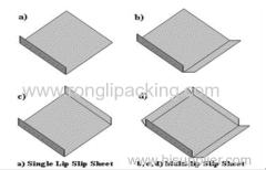 paper slider paper slip sheet instead of pallet