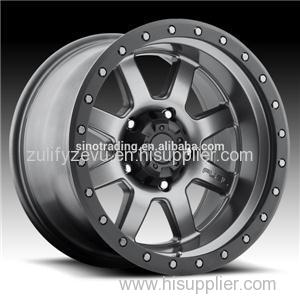 Wholesale Aluminum ODM And OEM Black Color Car Wheel Rims Made In China