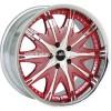 RED Car Chrome Wheel Rims Forged Aluminum
