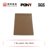 superior materials cardboard slip sheets made in china