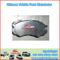 ZX 3501012-0000 Brake pad