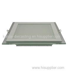 Aluminum die casting LED light housing