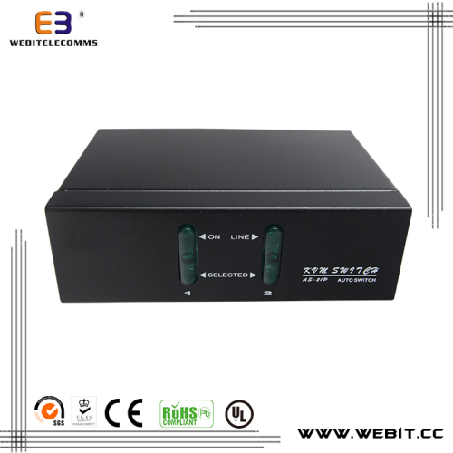 USB 2 ports VGA KVM switch