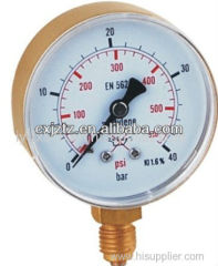 Contact Now63mm Acetylene Pressure Gauge In Snap On Plastic Window