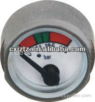 25mm Miniature Pressure Gauge For Fire Extinguisher