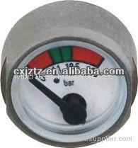 25mm Miniature Pressure Gauge For Fire Extinguisher