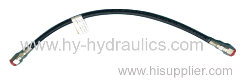 OEM straight fittingsBSPT male fitting Hose assembly