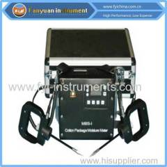 Fibre Cotton Package Moisture Tester