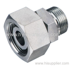 Reducer Hydraulic adapter with swivel nut 2C
