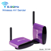 Wireless AV Sender/Wireless Audio Video Transmitter Receiver for cctv camera