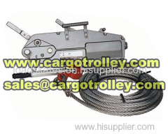 Wire rope pulling hoist price list with details