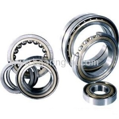 thin section angular contact ball bearing 7208C