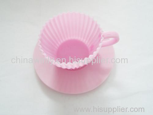 Cup Muffin Silicone Cake