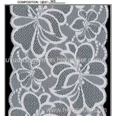 Flowered Galloon Lace (J0018)