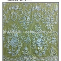 Nylon Gallon Lace Fabric (E8037)