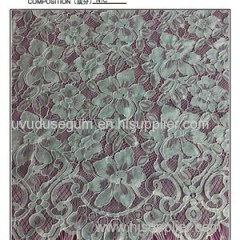 Fancy Eyelash Lace Fabric (E2129)
