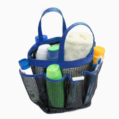 Mesh style Portable Stroage Basket with 8 Pocket