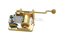 18 Note Crank Musical Mechanism