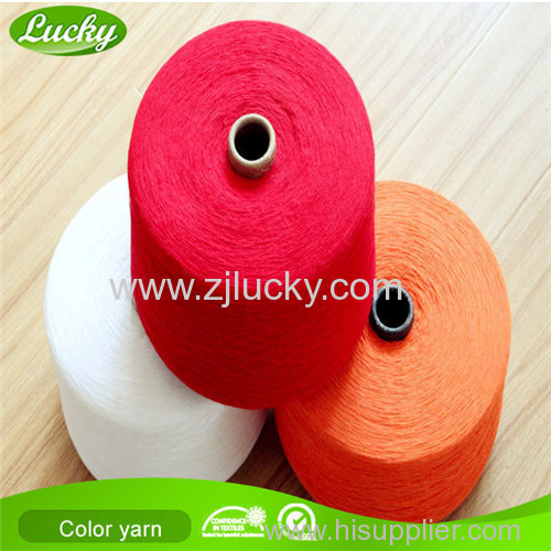 colorful weaving bedsheet yarn
