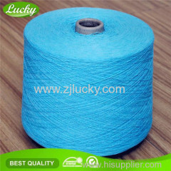 recycled cotton polyester blended yarn for weaving towel