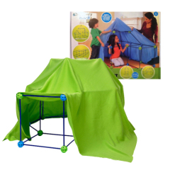 discovery kids construction fort for assembly any imagine