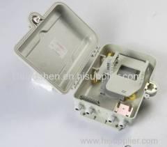 Optic fiber distribution frame Outdoor Fiber Optic Terminal Box 16 Port PLC Splitter Box