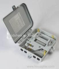 Outdoor Fiber Optic Terminal Box 8 Port PLC Splitter / FTTH Box