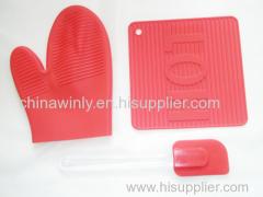 3шт кухонный набор силиконовые инструменты