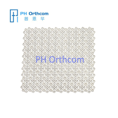 0.6mm Titanium Mesh for Neurosurgery Size 100x100mm