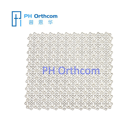 Titannium Mesh for Neurosurgery thickness 0.6mm 100x100mm
