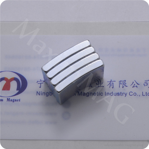 High strength Neodymium arc segment magnets