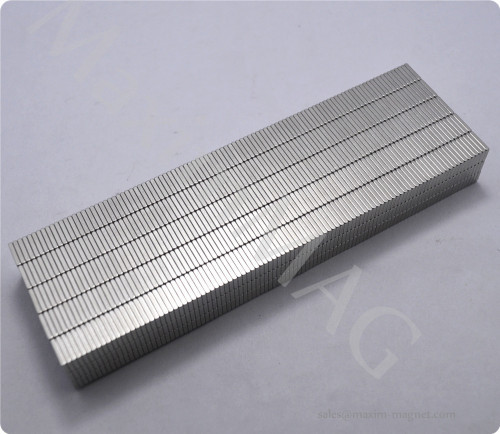 Block Neodymium Magnets of N38 grade