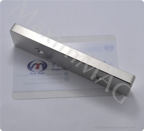Neodymium bar Magnets with countersink hole