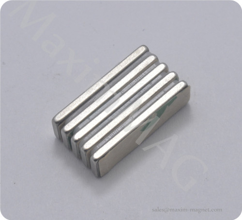 NdFeB bar magnets with 3M self-adhesive