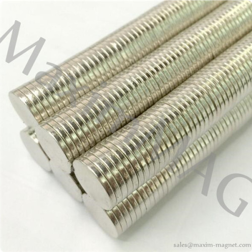 Small Magnets made of Neodymium iron boron
